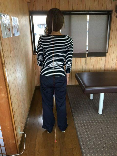 豊川市 女性 腰痛1