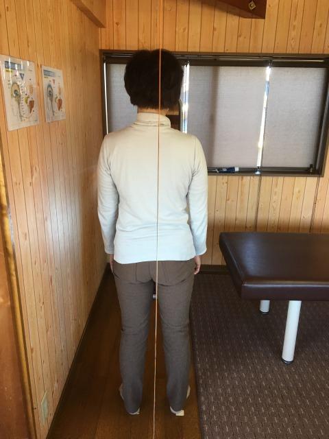 豊川市 右足つけ根痛 女性