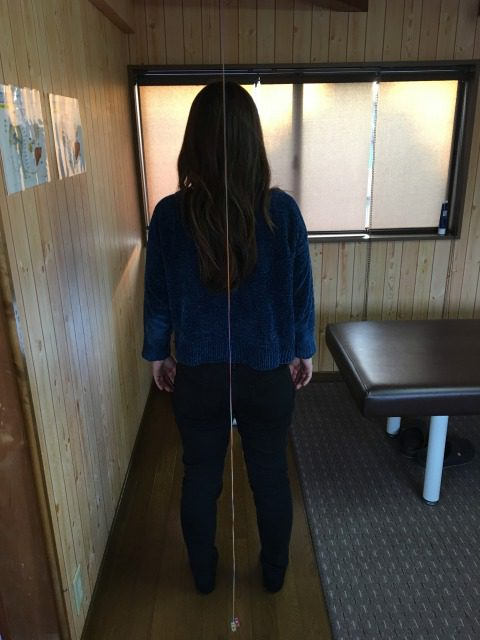 豊川市 歩く腰痛 女性