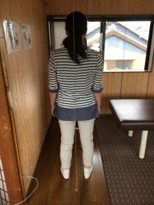 豊川市 女性 右肩痛い
