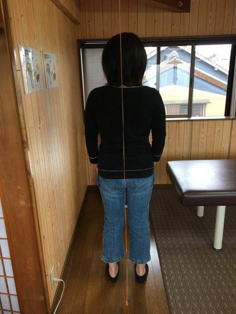 豊川市 女性 腰痛
